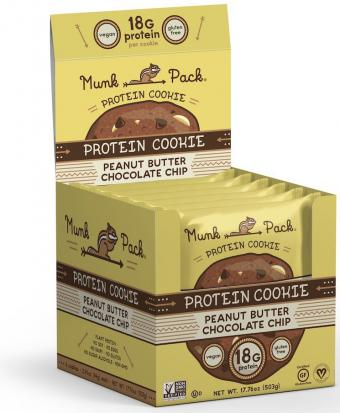 Munk Pack - Peanut Butter Chocolate Chip - Protein Cookie