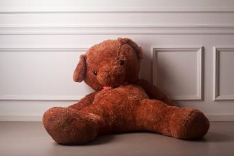 huge toy bear