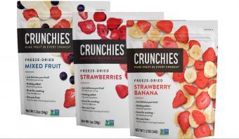 Crunchies Paleo Freeze Dried Fruit Snacks