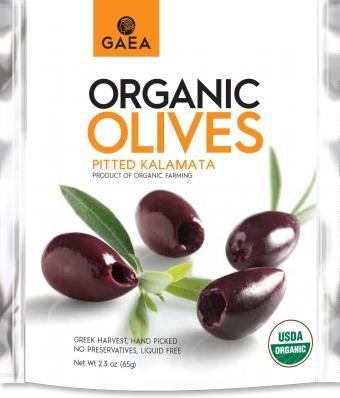 Gaea Organic Olive Snacks