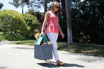 Using CleverMade Caddy as a Tote Bag