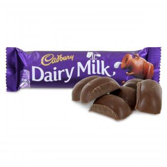 Cadbury Dairy Milk candy bars