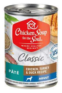 Chicken Soup Adult Chicken Turkey & Duck Canned Pate Dog Food