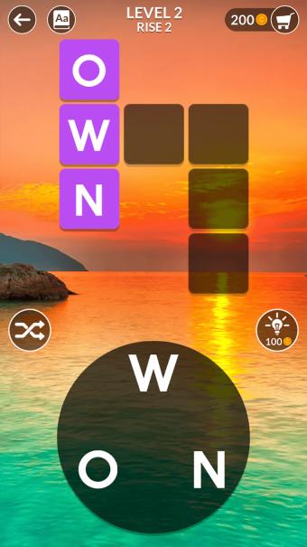 Screenshot of Wordscapes