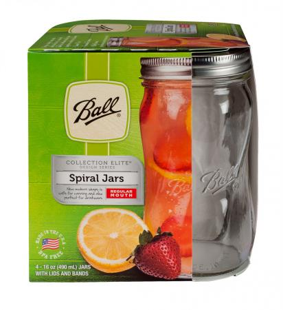 Ball Spiral Jars 16oz