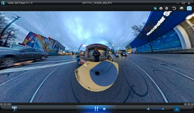 Vivitar 360 Player software