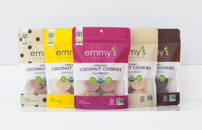 Emmy's Organics Coconut Cookies