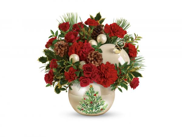 teleflora holiday bouquet