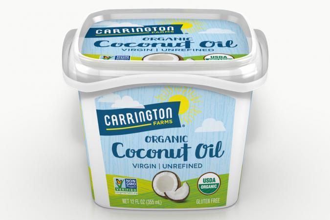 Carrington Farms Unrefined Coconut Oil