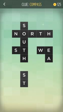 Screenshot of Bonza Word Puzzle