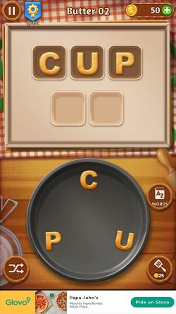 Screenshot of Word Cookies