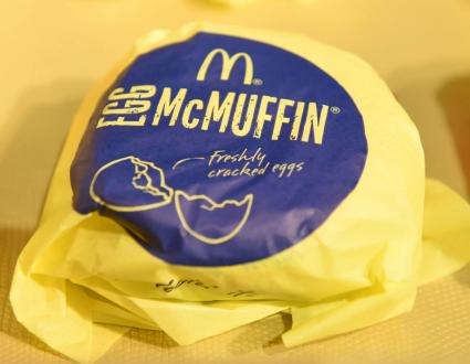 Egg McMuffin Breakfast Sandwich