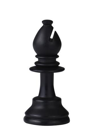 Black chess bishop; Copyright Lsttec at Dreamstime.com