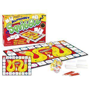 Alphabet Squiggle Game