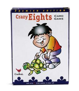 Crazy 8's card game