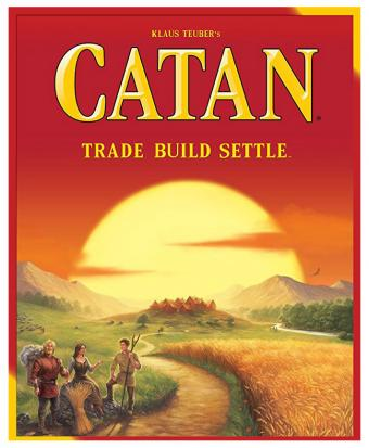 Catan Trade Build Settle Board Game