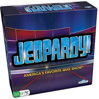 Jeopardy board game