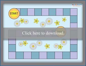 Blank Easy Game Board
