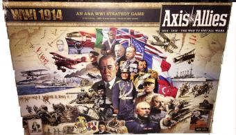 Axis and allies 1914 box art