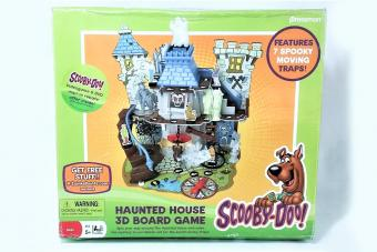 An Overview of Scooby-Doo! Haunted House 3D Board Game