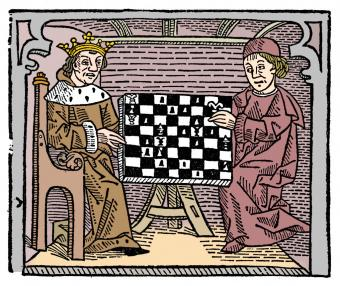Game and play of chess, 1474 (1956)
