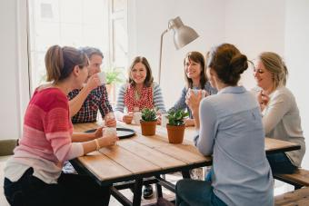 Ideas for a Serenity Prayer Group Activity: Encourage Togetherness