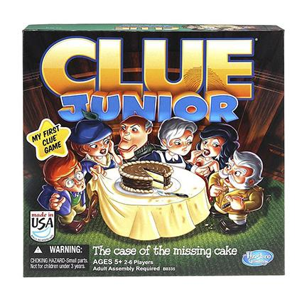 Clue Jr. Board Game