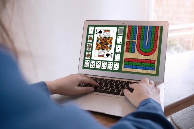 Playing cribbage online