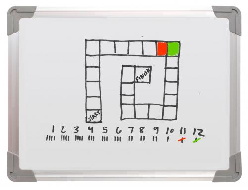 Color War dry erase board game