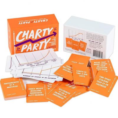 Charty Party - The Adult Card Game of Absurdly Funny Charts