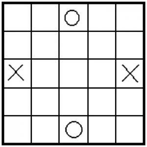 Seega board game