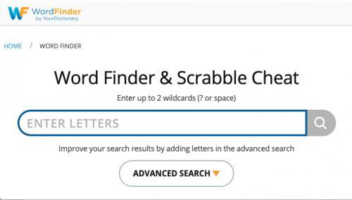 Word Finder & Scrabble Cheat