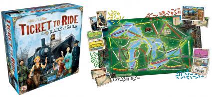 Ticket to Ride - Rails & Sails