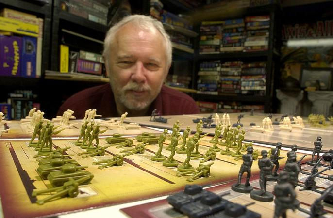 Larry Harris, Creator of The Game Axis and Allies