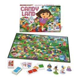 Candyland is a board game good for kindergarteners.