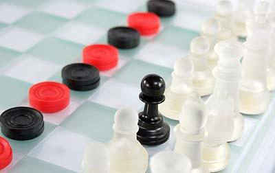 Checkers and Chess