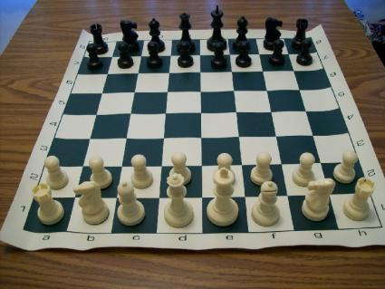 Home Position for the Chess Pieces