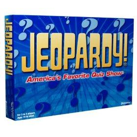 Enjoy TV game show fun at home with Jeopardy.