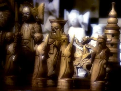 Mongolian Chess Set