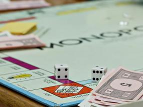 The board game Monopoly.