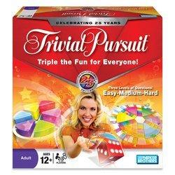 Trivial Pursuit is the leading trivia board game.