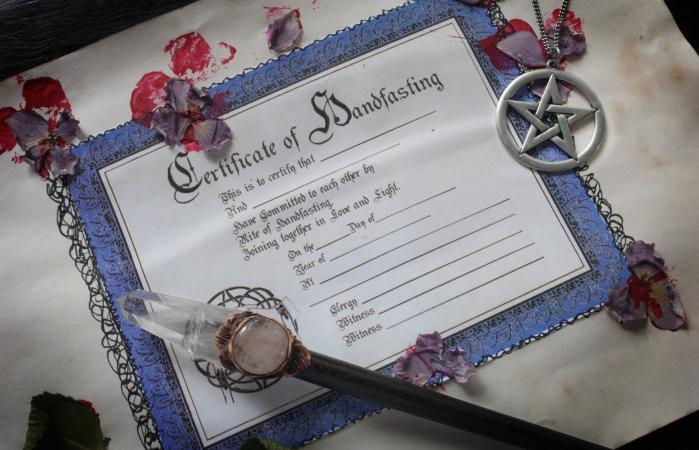Certificado Handfasting