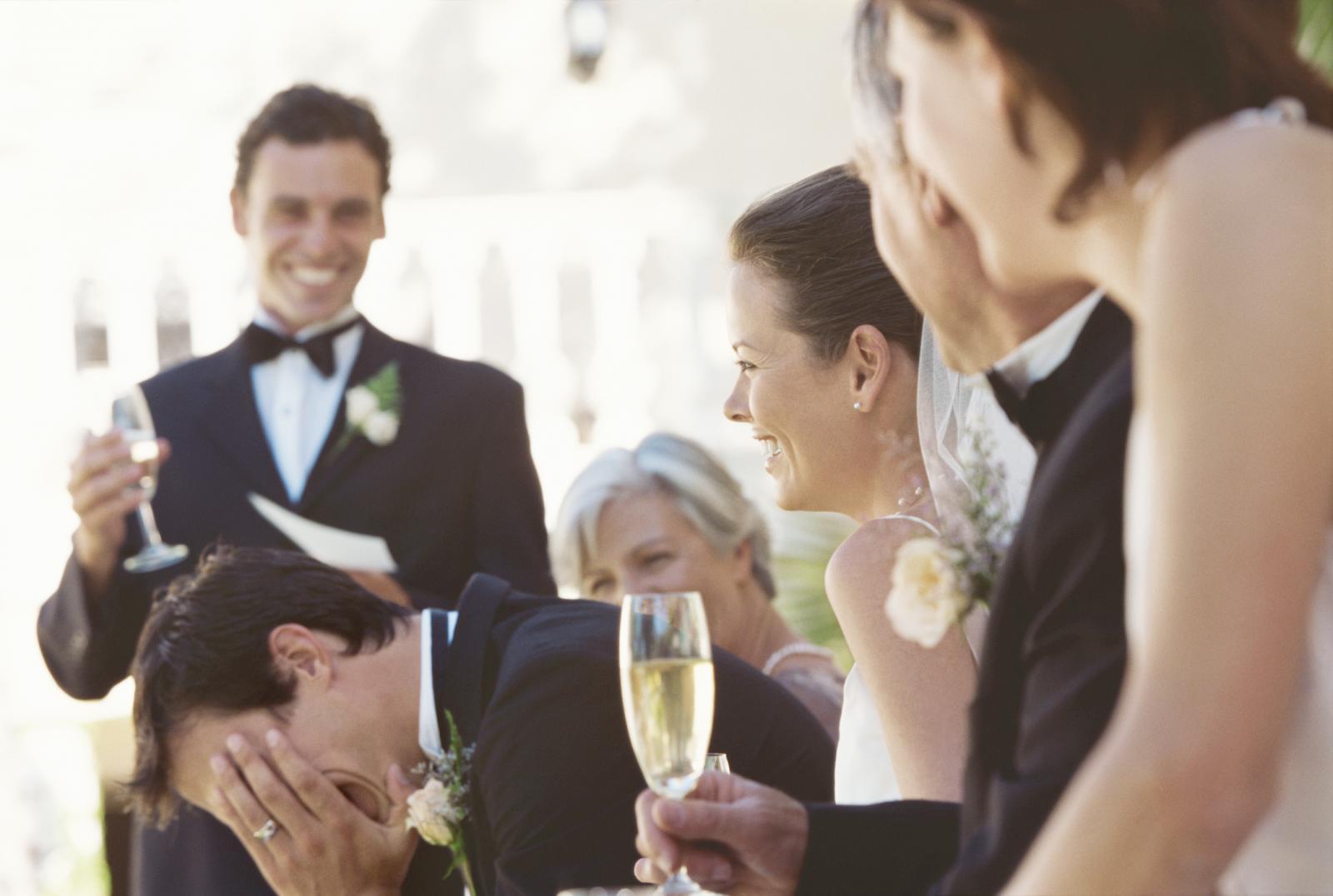 Discurso del padrino en una boda