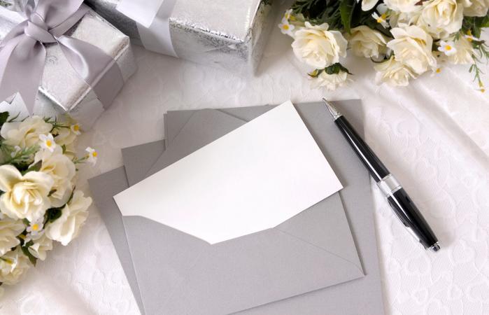 Regalos de boda con tarjeta