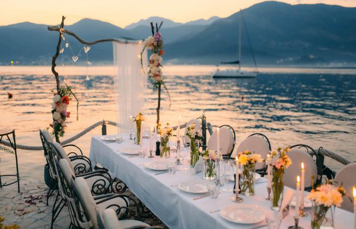 Recepción de bodas en la playa