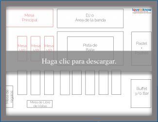 Diseño de mesa rectangular