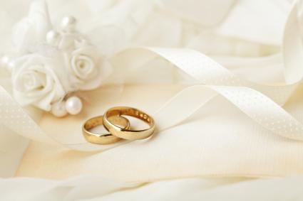 Invitación de boca y anillos