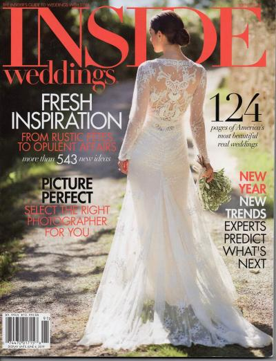 Revista Inside Weddings Primavera 2019