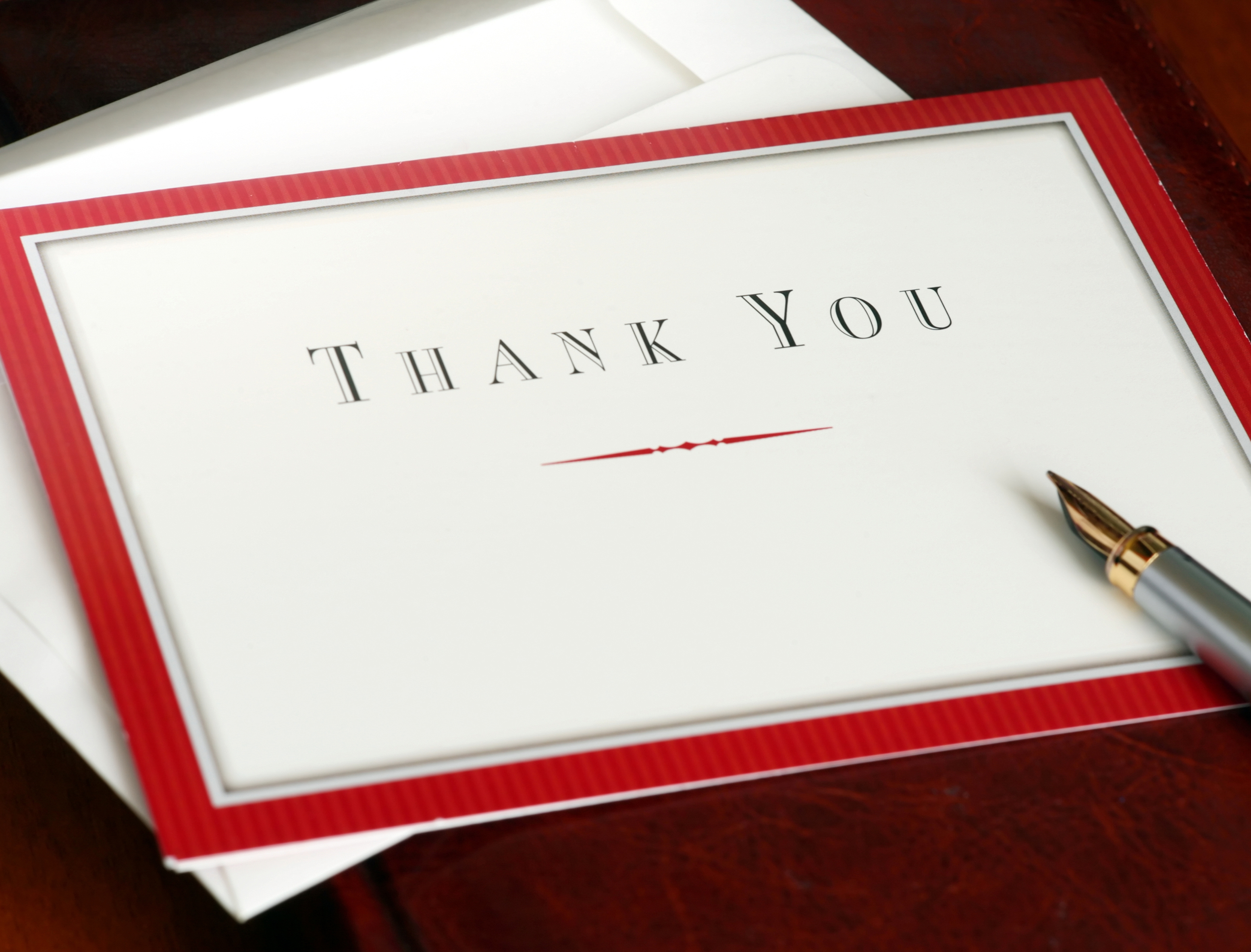 Employee Farewell Thank You Note