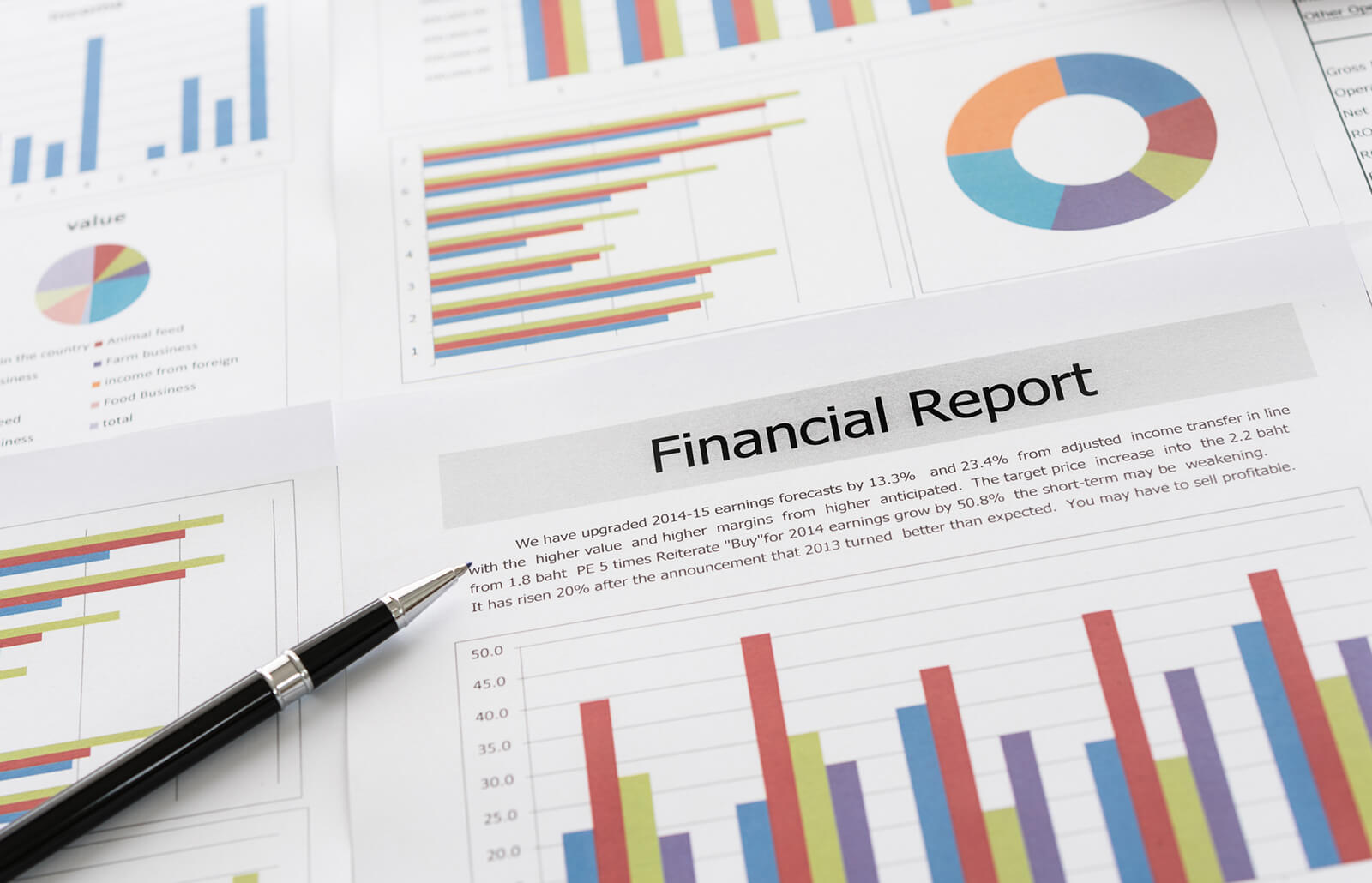 How to Write Annual Finance Reports   LoveToKnow
